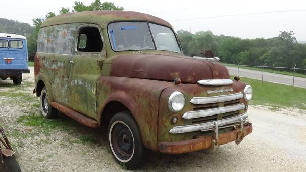 SOLD! Dodge 1/2 Ton Panel Van