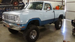 SOLD!!  1975 DODGE POWER WAGON W100 4X4 $22,500 obo