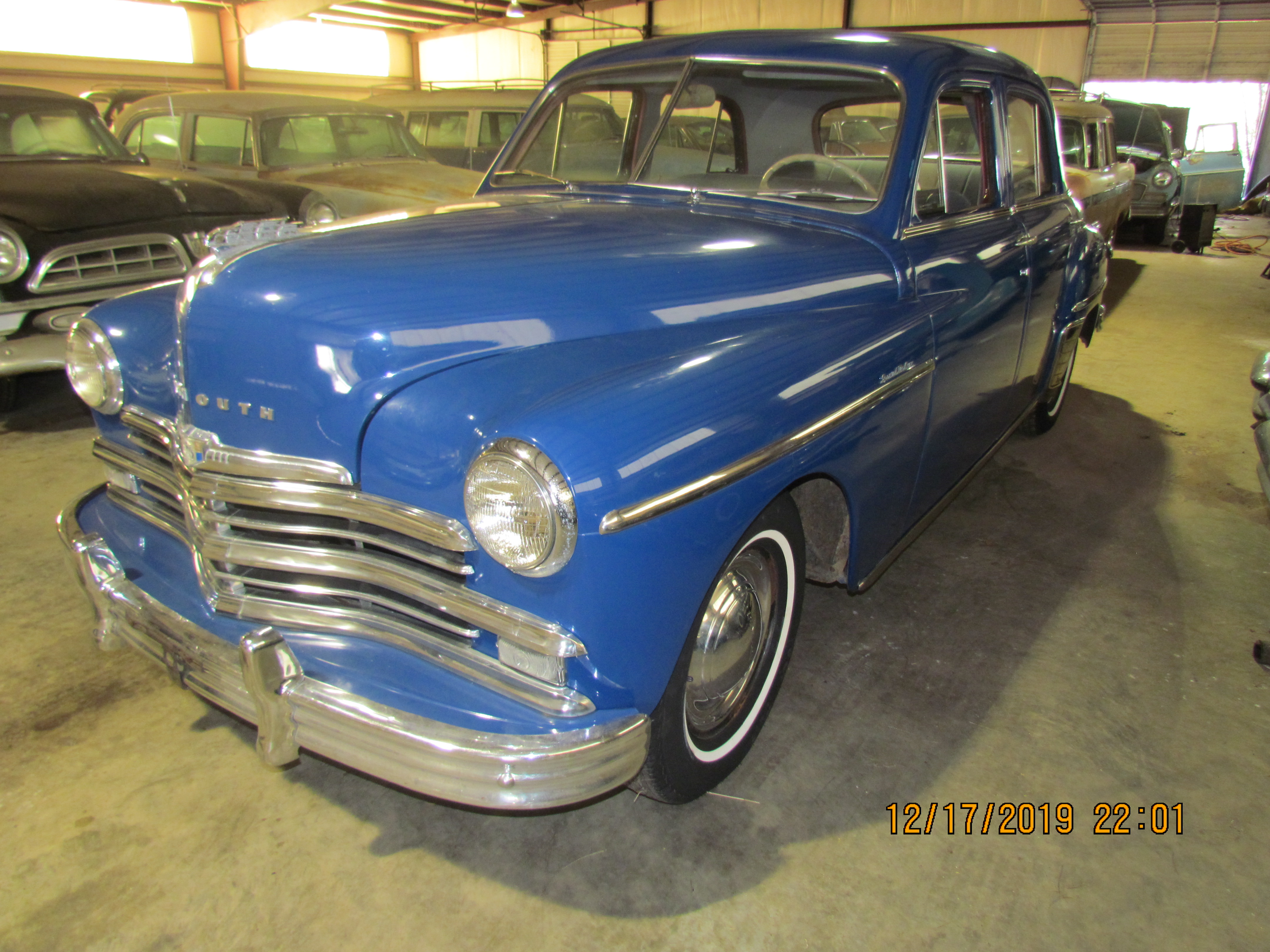SOLD! 49 Plymouth Special Deluxe