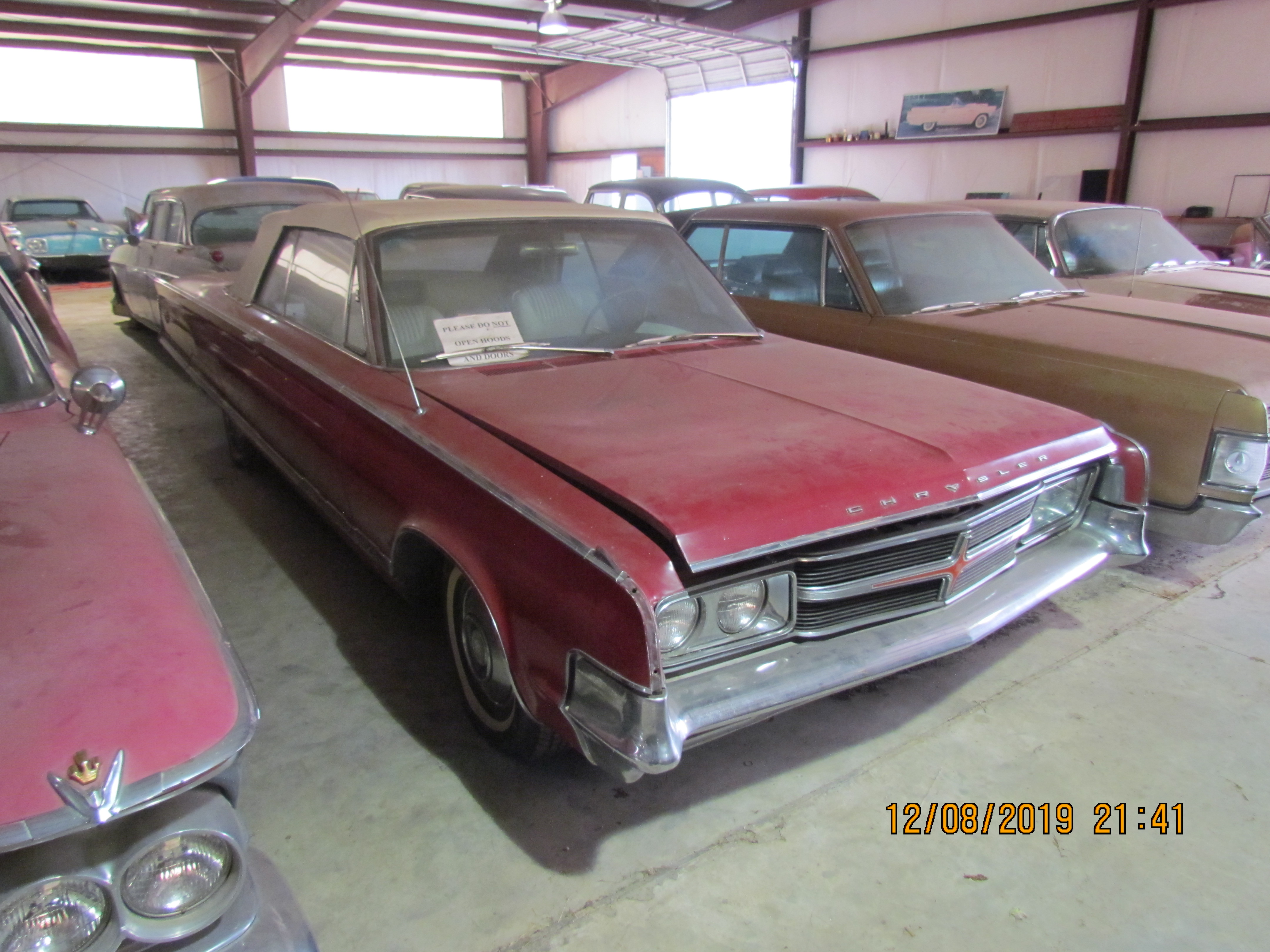 PENDING 65 Chrysler 300 Convertible