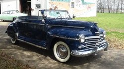 SOLD 1948 Plymouth Special Deluxe Convertible
