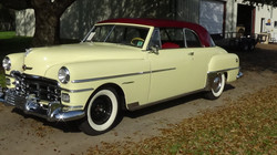 SOLD 1950 Chrysler Windsor Newport Coupe