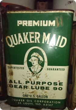 Oil Can Quaker Maid