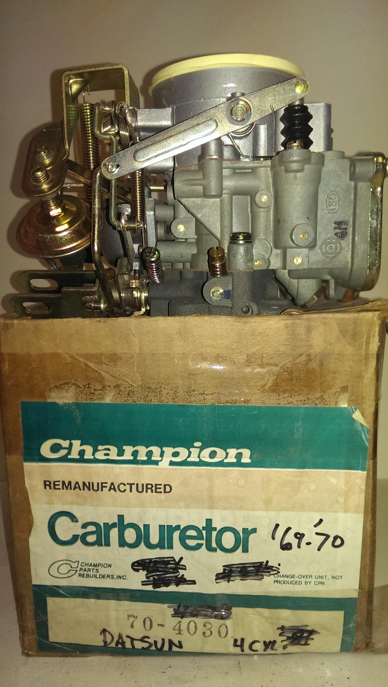 1969-1970 Datsun Rebuilt Carburetor