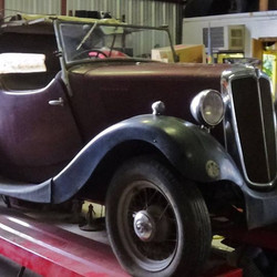 Classic Car Morris 8 SI Rare Option 2 Seater Sport Tourer 1937 Convertible Rare 1937 Morris Eight Ro