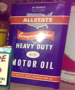 ALLSTATE OIL CAN