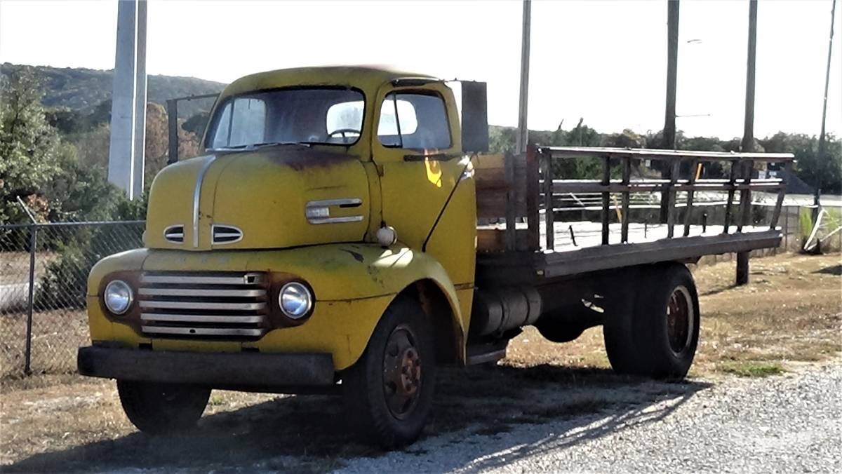 1948 Ford F-5 COE Cabover - $8,500 (Kerrville)