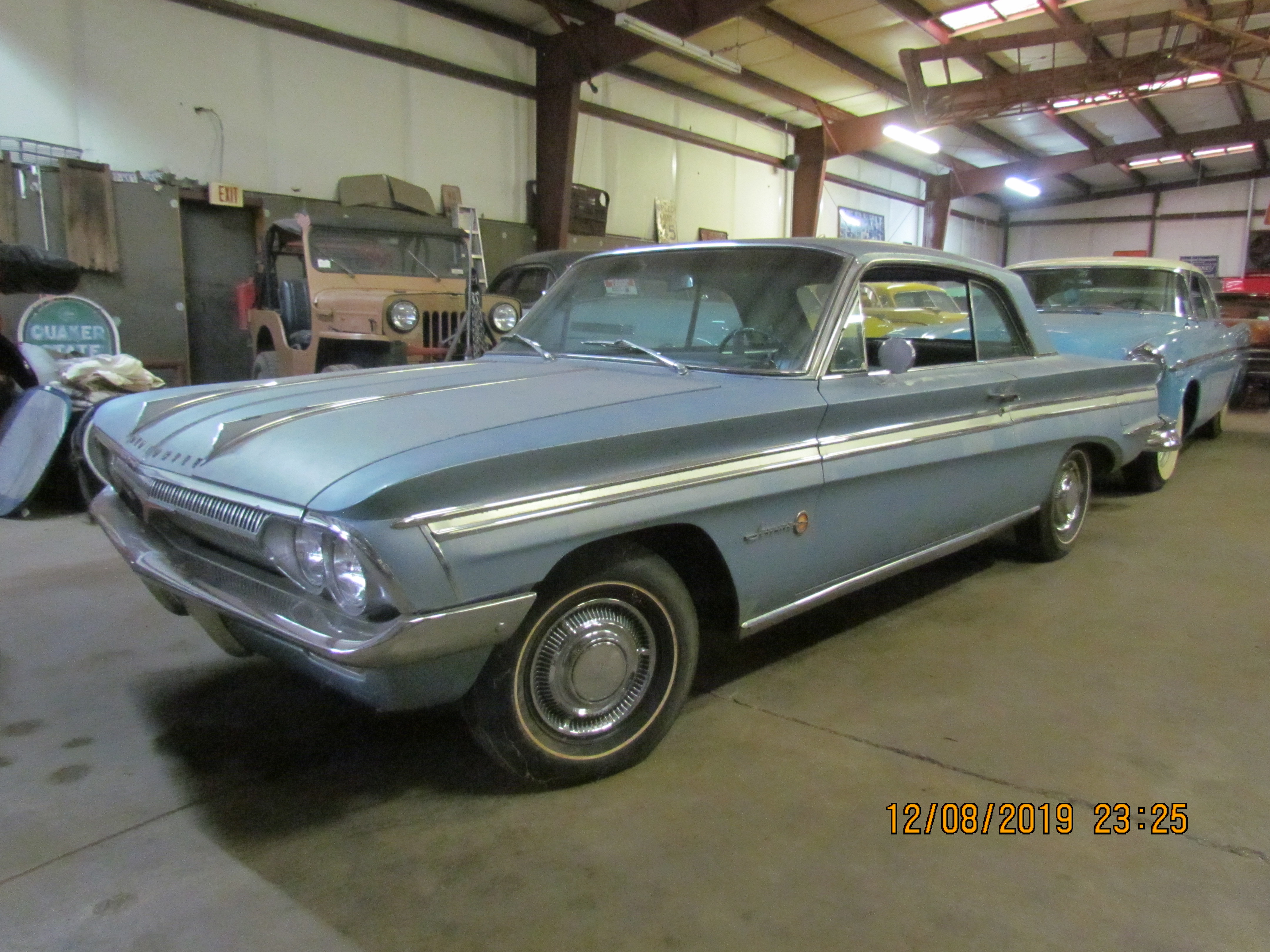 SOLD 62 Jetfire Olds 2Dr