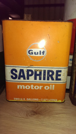 Oil Can Gulf Saphire