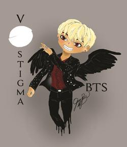 BTS V Stigma 2016