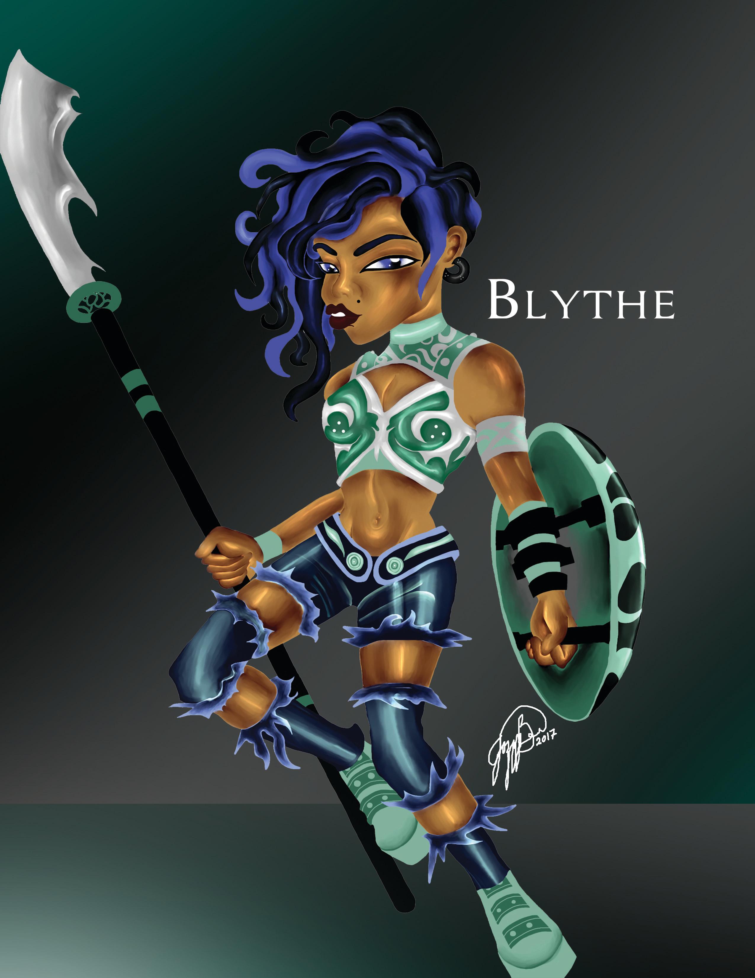 Blythe BA Finale
