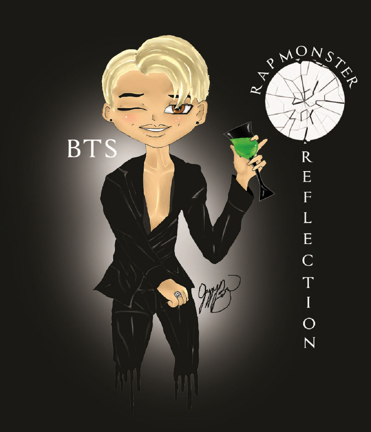 BTS Rap Monster Reflection 2016