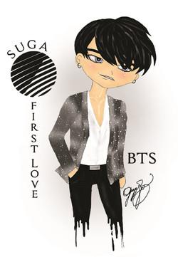 BTS Suga First Love 2016