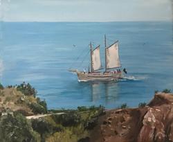 Portuguese Sailing Boat