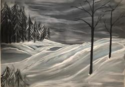 Cold Mountain Scene