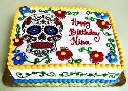 Dia de Muertos Birthday