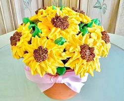 Sunflower Flower Pot