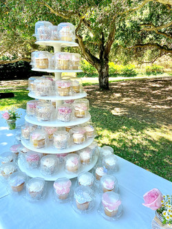 Cupcake Wedding Favors