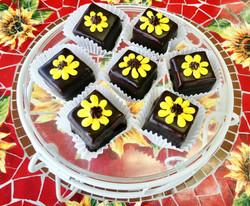 Sunflower Petit Fours
