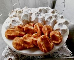 Mexican Wedding Cookies & Snickerdoodles