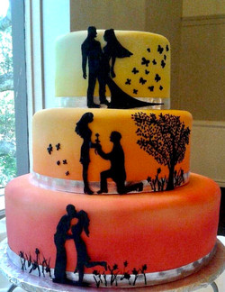 Silhouette Wedding Story