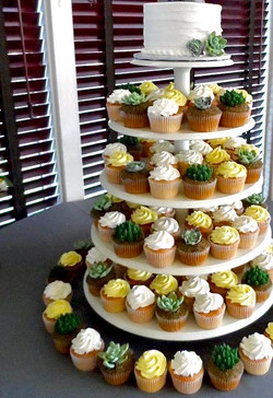 Sweet Wedding Succulents