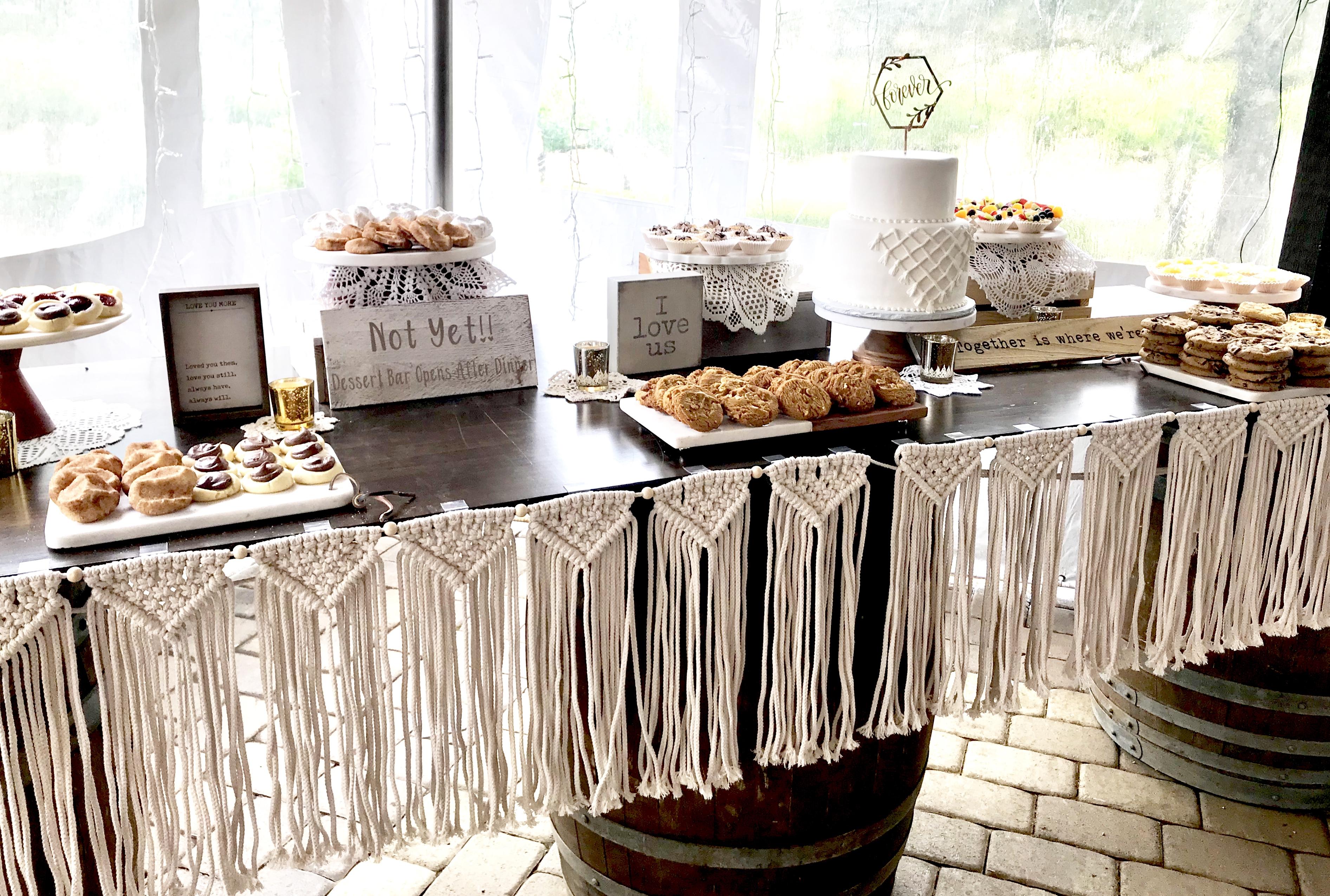 Desserts in Boho-Fashion