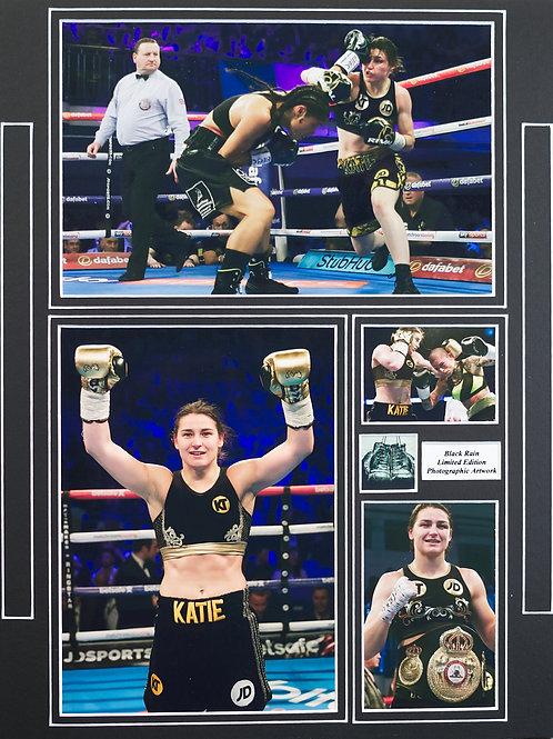 Katie Taylor Framed Print