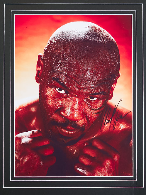Mike Tyson - Framed Print