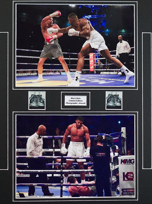 Joshua v Klitschko Framed Print
