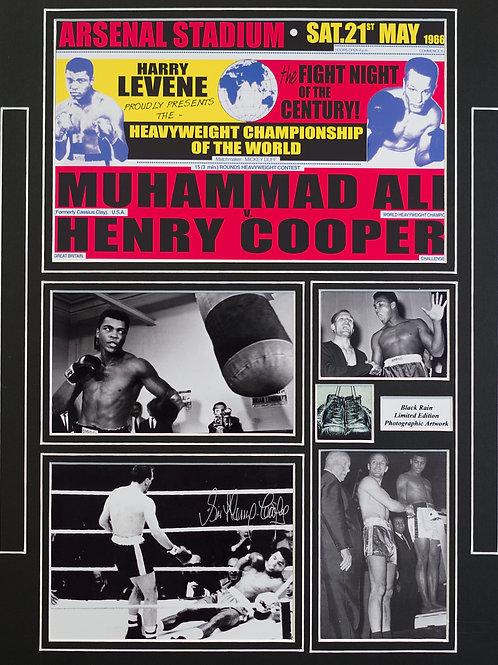 Ali v Cooper Framed Print