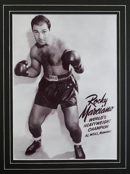 Rocky Marciano Framed Print