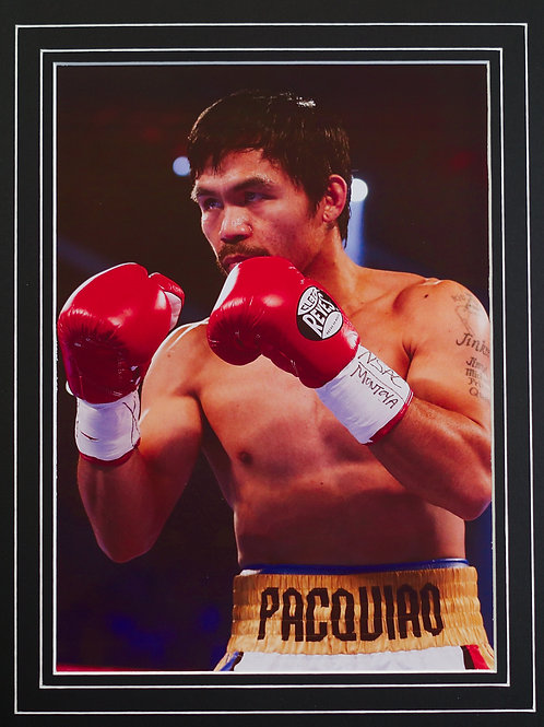 Manny Pacquiao - Framed Print