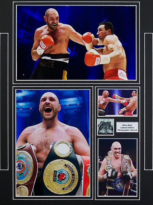 Tyson Fury Framed Print