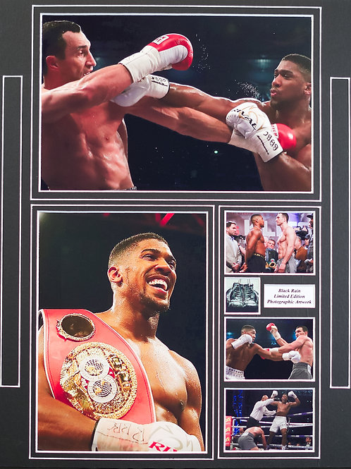 Anthony Joshua Framed Print