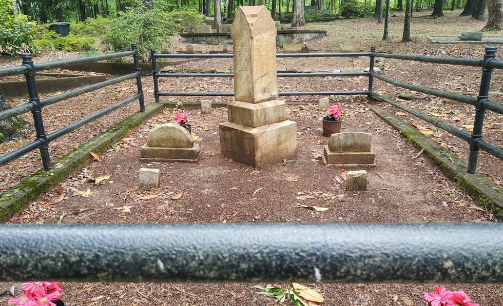 Flemister Headstone after Restoration