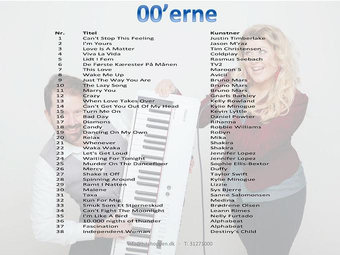 Hitliste, hits, sange, musik