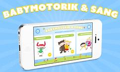 Appen Babymotorik & Sang, AppStore