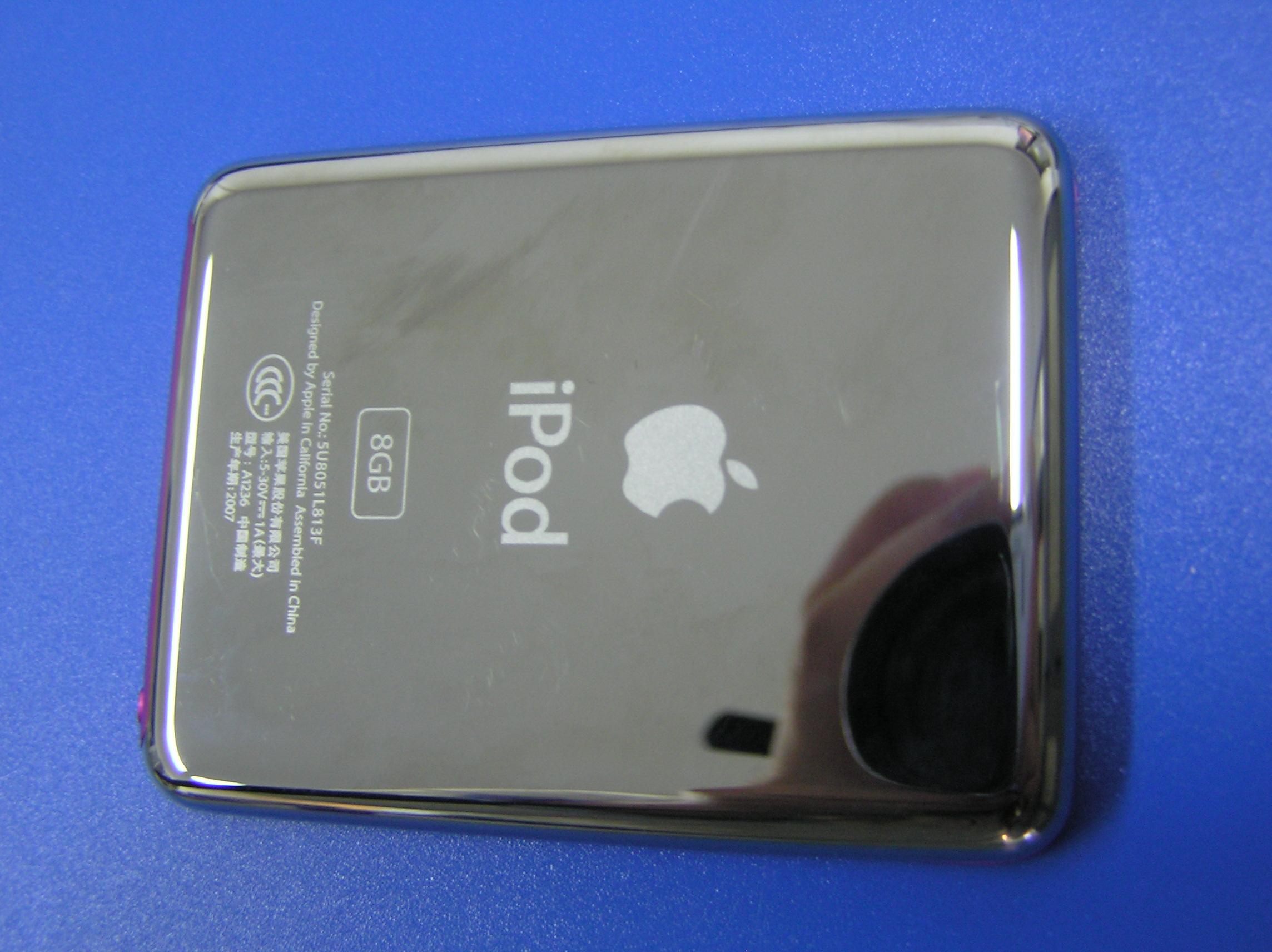 Gravírování loga apple iphone