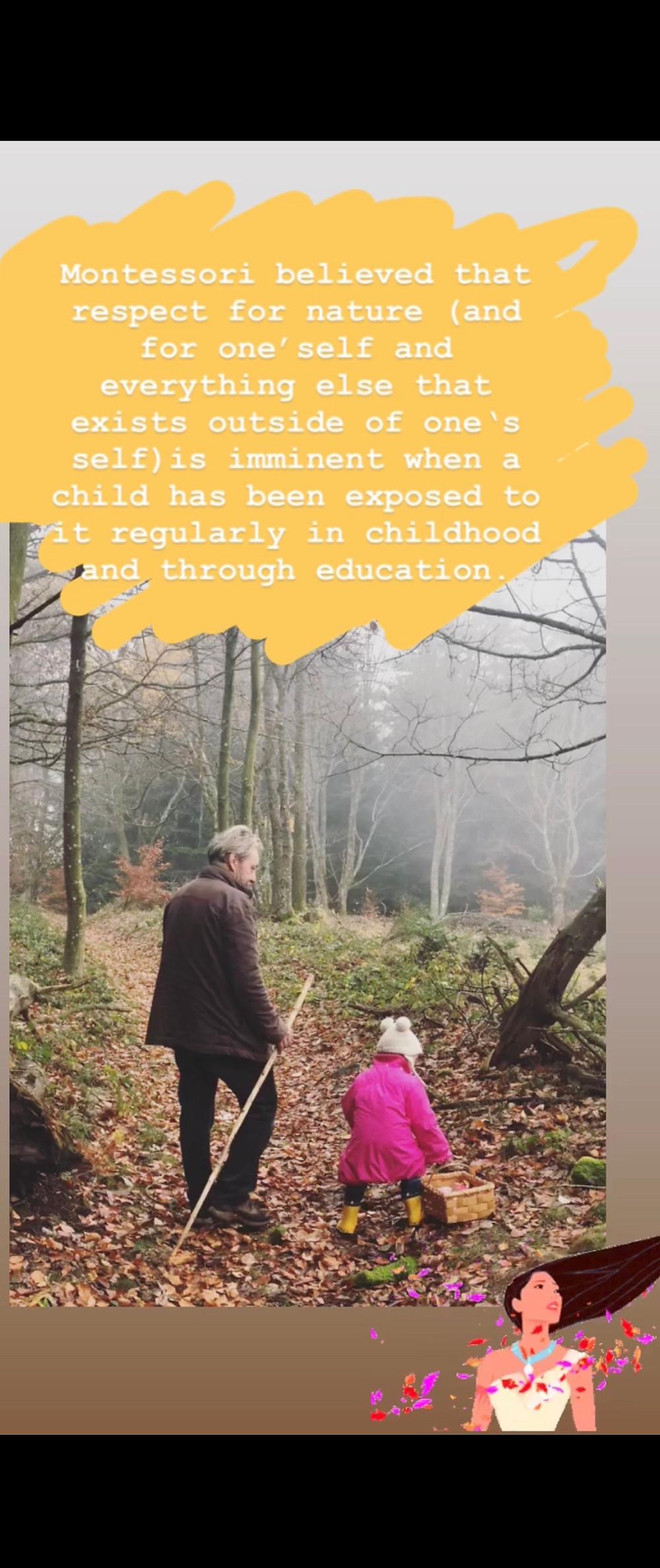 Montessori on Nature Walks