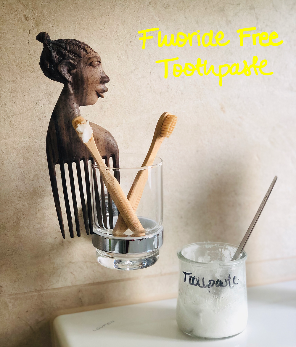 Fluoride Free Toothpaste DIY