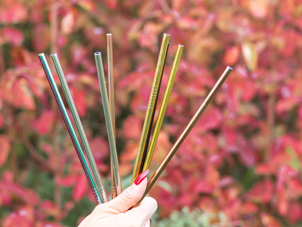 Reusable Straws from Strawganic