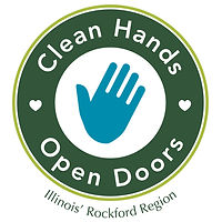 2020 clean hands open doors logo-Rockfor