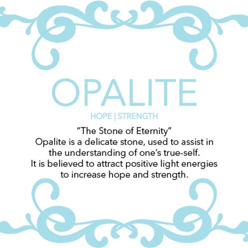 1pc Opalite Stone