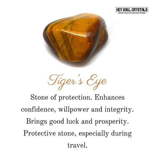 1pc Tiger's Eye Stone