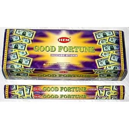 1 Box Good Fortune Incense