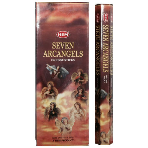 1 Box Seven Arcangel Incense