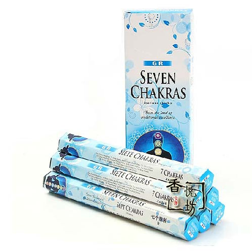 1 box 7 Chakra Incense