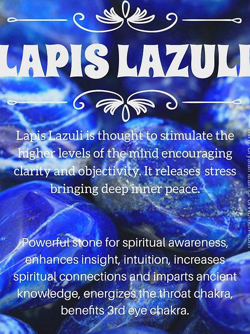 1pc Lapis Lazuli