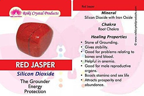 1pc Red Jasper Stone